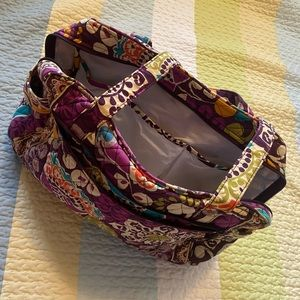Vera Bradley Plum Crazy//Purple Diaper Bag 💜